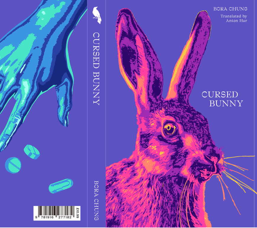 The scary cute beautiful cover of Cursed Bunny